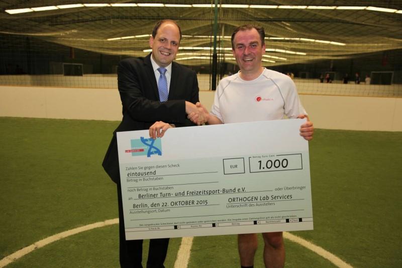 Orthogen supports the Berliner Turn- und Freizeitsport-Bund